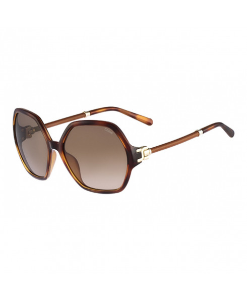 Chloe CE638SL 214 - 'Marcie' Sunglasses - Dark Brown