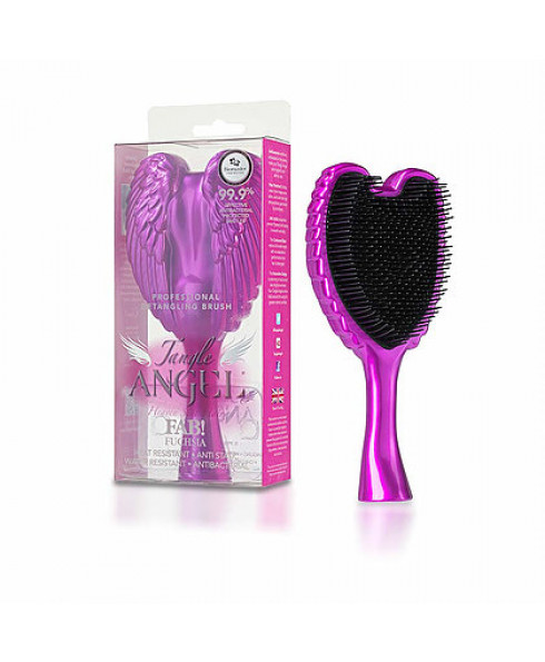 Tangle Angel Professional Tangle Angel Hairbrush - Fab Fuschia