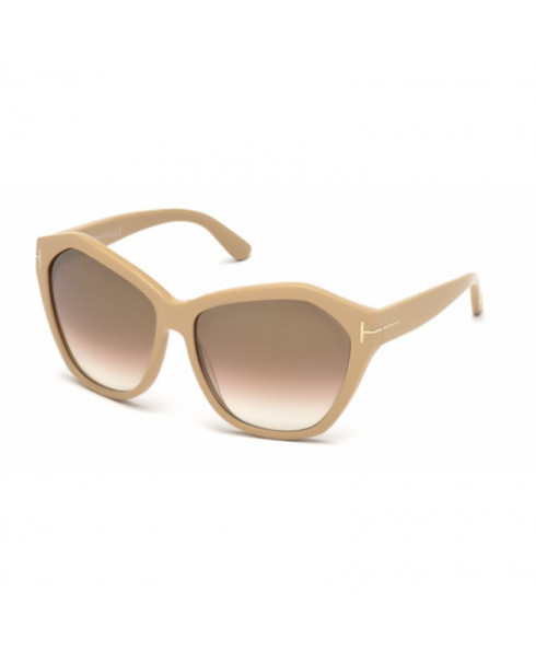 Tom Ford 'Angelina' Sunglasses in Cream