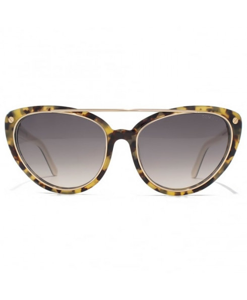 Tom Ford 'Edita' Sunglasses in Havana Print