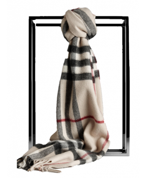 Burberry 100% Cashmere Scarf For Women & Men (Unisex)