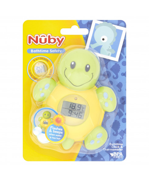 Nuby - Turtle Bath Thermometer