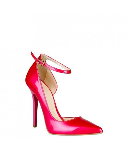 V 1969 'Evelyne' Shoes in Pink - Size 38