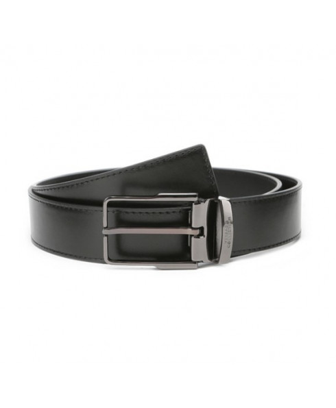 Versace Mens Leather Belt - Black