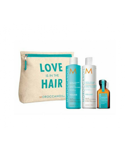 Moroccan Oil 'Love is in the Hair' Collection Volume Gift Set
