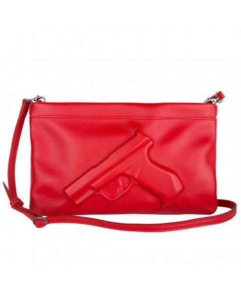 Vlieger & Vandam Gun Clutch in Red