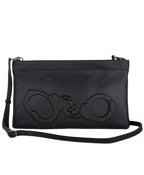 Vlieger & Vandam Handcuffs Clutch in Black