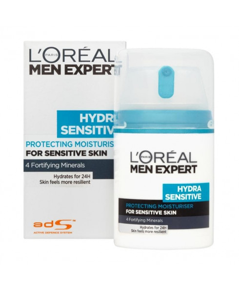 "L'Oréal Paris Men ""Expert Hydra Sensitive"" Moisturiser - 50ml"