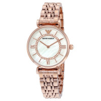 Emporio Armani Ladies' Watch - Rose Gold
