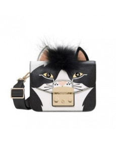 Furla Metropolis Jungle Mini Crossbody - Toni Onyx