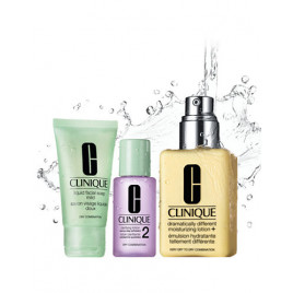 Clinique Great skin Gift Set  Lotion Dry/Combination Skin