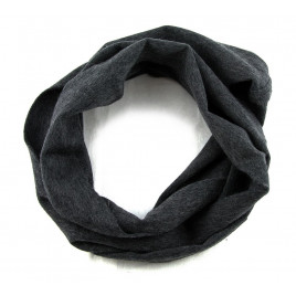 Glencroft - 100% Cashmere Dark Grey Coloured Cowl