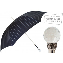 Pasotti Men Luxurious Swarovski Umbrella