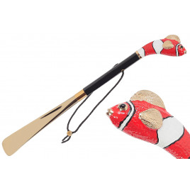 Pasotti Luxury Red Fish Shoehorn