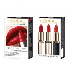 L'Oréal Paris - Color Riche Red Obsession Lipstick Trio