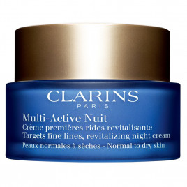 Clarins Multi-Active Nuit Revitalizing Night Cream Normal to Dry Skin - 50ml