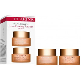 Clarins - Extra Firming Partners (Dry Skin): Day Cream (50ml) & Night Cream (50ml) Dry Skin - 2pcs