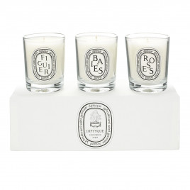 Diptyque - Candle Set Baies Figuier Rose (3x70g)