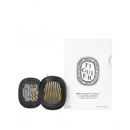 Diptyque - Car Diffuser And Figuier Scented Insert (2.1g)