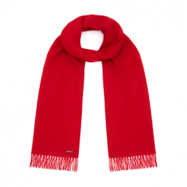 Hortons England 100% wool Country Scarf Red