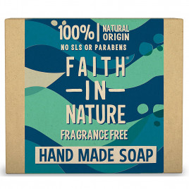 Faith In Nature - Fragrance Free Soap (100g)