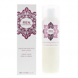 REN - Moroccan Rose Otto Body Lotion (200ml)