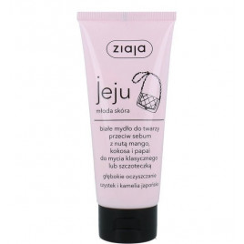 Ziaja - Jeju White Face Cleanser for Young Skin (75ml)