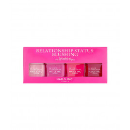 Nails Inc - Relationship Status Blushing Quad (4x14ml)