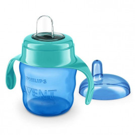Philips - Avent Easysip Spout Cup Blue & Green