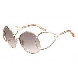 Chloe CE124S 724 Gold Peach Sunglasses for Women