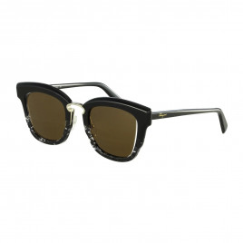 Salvatore Ferragamo SF886S Black/Grey Cat Eye Sunglasses