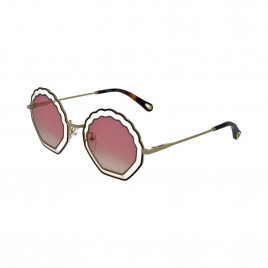 Chloé CE147S Tally Sunglasses Havana Sand Gradient Rose For Women