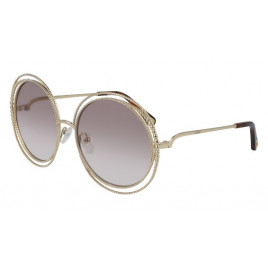 Chloé CE114SC Carlina Gold/Gradient Light Brown Sunglasses For Women