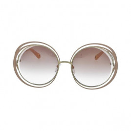 Chloé CE155S Carlina Gold Nude Sunglasses For Women