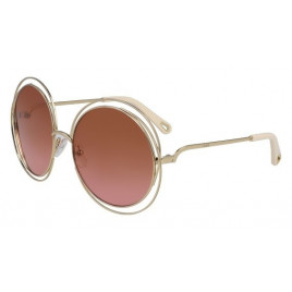 Chloé CE114SD Carlina Gold Brick Rose Sunglasses For Women