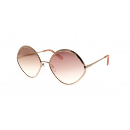 Chloé CE168S Dani Sunglasses Rose Gold Peach For Women