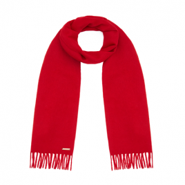 Hortons 100% Cashmere Scarf Red