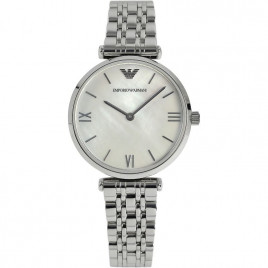 Emporio Armani Ladies Classic Stainless Steel Watch AR1682
