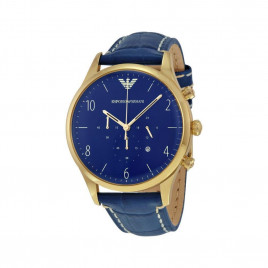 Emporio Armani Mens Navy Classic Watch AR1862