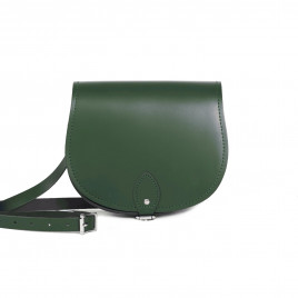 Gweniss Avery Saddle Bag - Bottle Green