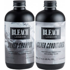 Bleach London Silver Shampoo & Conditioner Duo (250ml)