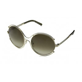 Chloé CE122S 750 Isidora Sunglasses Gold Khaki For Women