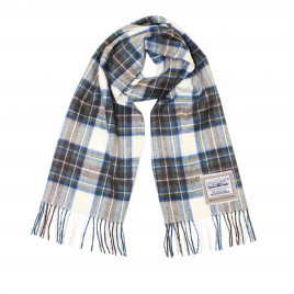 Heritage Traditions - Muted Dress Blue Stewart Wool Scarf