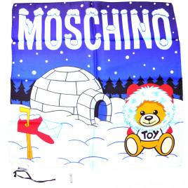 Moschino Igloo Scarf - Blue