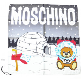 Moschino Igloo Scarf - Grey