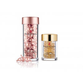 Elizabeth Arden Advanced Ceramide Capsules Daily Youth Restoring Eye Serum + Retinol Line Erasing Night Serum Bundle (2 x 60 Capsules)