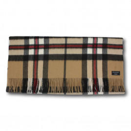 Gretna Green Cashmere Stole. 100% Wool - Camel Thomson