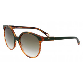 Chloe CE733S 322 - Green/Havana Sunglasses for Women