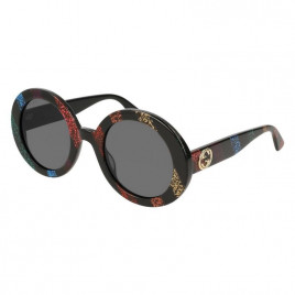 Gucci - GG0319S Havana / Brown Lens Sunglasses