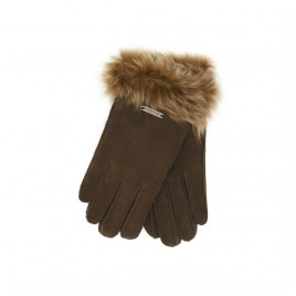 Hortons England Elsefield Sheepskin Gloves - Brown (One Size)